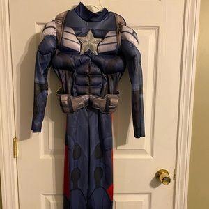 Captain America halloween custom